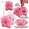 AM/FM Clock Radio Piggy Bank with