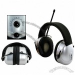AM/FM Radio Noise Blocking Stereo Headphones