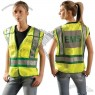 ANSI 207-2006 Yellow EMS Safety Vest