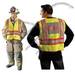 ANSI 207-2006 Yellow Public Safety Fire Vest