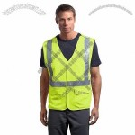 ANSI Class 2 Breakaway Mesh Safety Vest in Safety Yellow