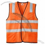ANSI Class 2 Economy Mesh Safety Vest in Safety Orange
