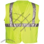 ANSI Class 2 Lime Mesh Value Safety Vest, Velcro Closure