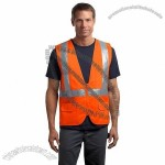 ANSI Class 2 Mesh Back Safety Vest in Safety Orange