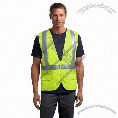 ANSI Class 2 Mesh Back Safety Vest in Safety yellow