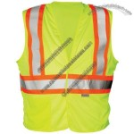 ANSI Class 2 Mesh Lime Safety Vest with Velcro Closure