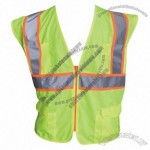 ANSI Class 2 Two Tone Mesh Surveyors Vest