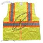 ANSI Class 2 Two Tone Solid Surveyors Vest