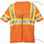 ANSI Class 3 Mesh Orange Surveyor Safety Vest