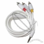 AV Cable For Apple iPod iPhone iPad