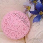 Abstract Flowers Silicone Cake Mould Cake Pan Handmade Soap Mold Biscuit Mold