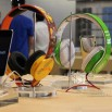 Acrylic Base Headphones Stand