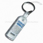 Acrylic Bottle-shaped 3D Keychain