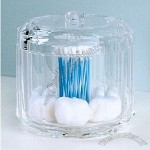 Acrylic Cotton Ball & Swab Holder