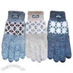 Acrylic Knitted Jacquard Glvoes