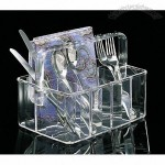 Acrylic Large Flatware Caddy