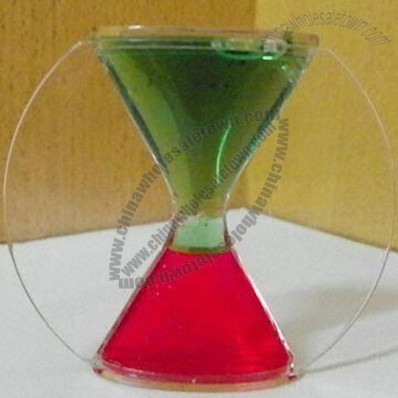 Acrylic Liquid Hour Floating Timer