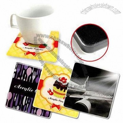 Acrylic Rectangular Coasters