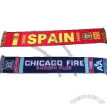 Acrylic Sport Scarf For Football Fans
