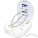 Acrylic Toilet Seat Award With Cover