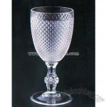 Acrylic Water and Wine Stemmed Goblet