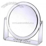 Acrylic vanity / magnifying (1X and 2X) mirror