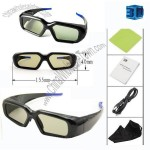 Active Shutter 3D Glasses for 3D TV, Sony/Sharp/Panasonic/Philips