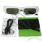 Active Shutter Glasses for DLP-link 3D HD TV 3D 4D Projector with Automatic-power Off Operating