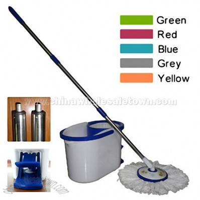 Adjustable Magic Microfiber Mop