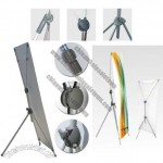 Adjustable X Banner Stand - Sturdy