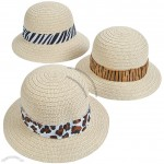 Adult Pith Helmets with Animal Print Band