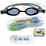 Adult silicon swimming goggles