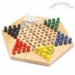 Adult wooden peg board game. A game for two to six players