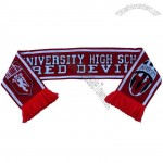 Advertising Knitted Football Fans Scarf