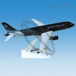 Air New Zealand Plastic Miniature Airplane
