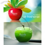 Air freshener, Green and red apple shaped car ointment/Auto perfume