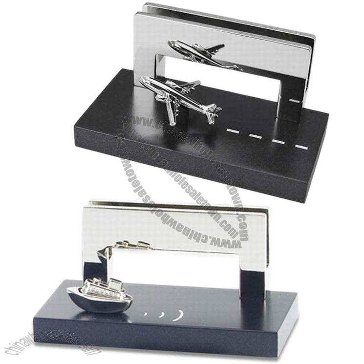 Airplane/Steamboat/Train/Car/Truck Metal Business Name Card Holder ...