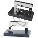Airplane/Steamboat/Train/Car/Truck Metal Business Name Card Holder