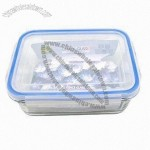 Airtight Glass Food Storage, Made of Borosilicate Glass, with Heat-resistant Feature