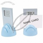 Alarm Clock with Name Card Holde