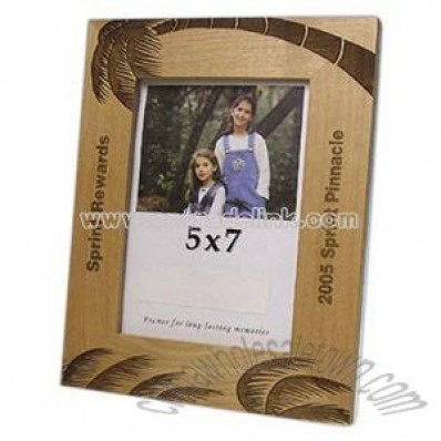 Alderwood flat photo frame