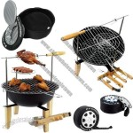 All-in-1 Multifunctional BBQ Grill Tools Cooler Bag Set
