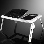 All in One Laptop Table with Cooler Pad
