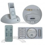 All-in-one iPod Docking and Charging Cradle for iPod