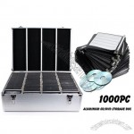 Aluminium CD/DVD Storage Box Case -1000 Disks