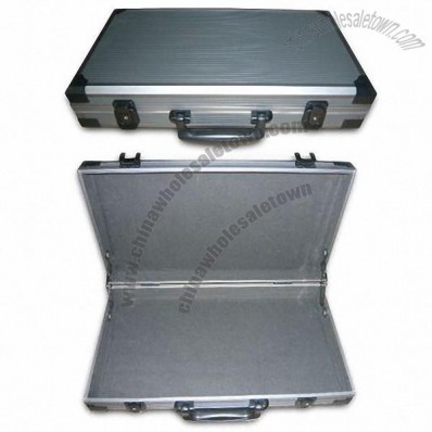 Aluminium Tool Case with Black Strong Metal Corners