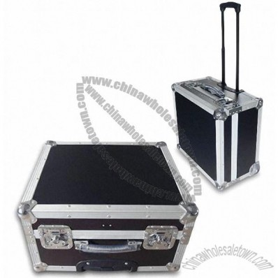 Aluminium Tool Case with Trolley For Easy Carrying