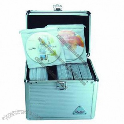 Aluminum 120pc CD Boxes