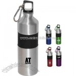 Aluminum 750 ml (25 oz) sports water bottle