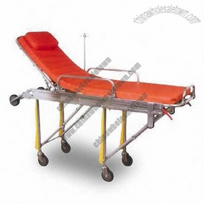 Aluminum Alloy Ambulance Stretcher Trolley, Foldable